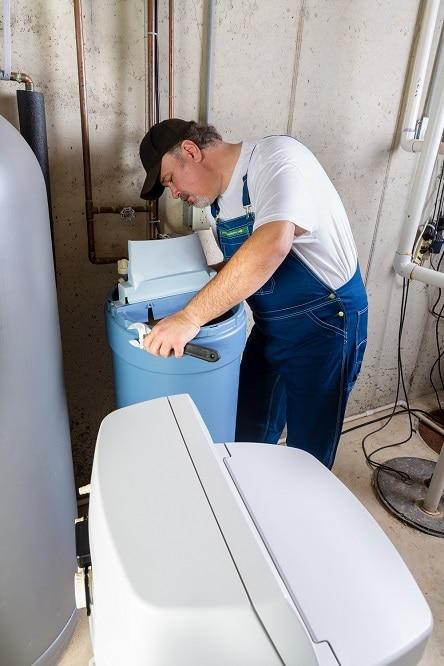 Installing Water Softener
