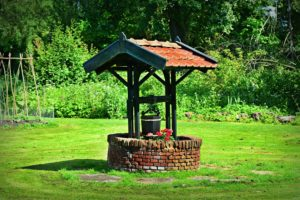 Water Well in Garden